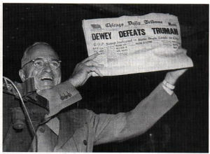 Failed Predictions: Dewey Defeats Truman
