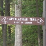 The beginnings of the Appalachian trail
