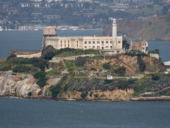 Image Of Alcatraz From Afar
