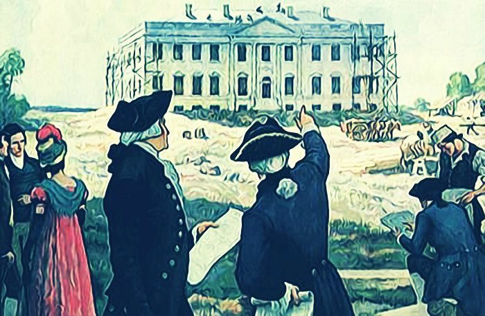 John adams moves to washington ira riklis history blog for Did george washington live in the white house