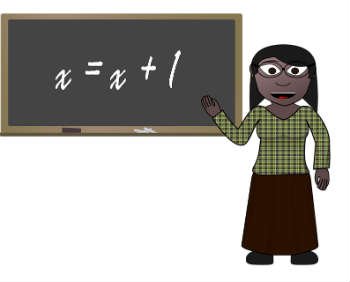 African American math teacher